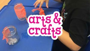 Arts & Crafts at Camp 4 Champs