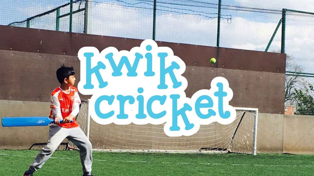 Kwik Cricket at Camp 4 Champs