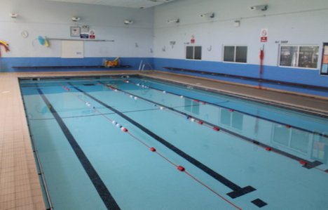 Mayflower High School swimming pool