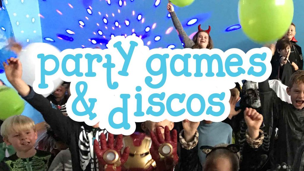 Party games & discos at Camp 4 Champs