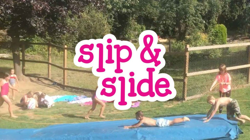 Slip & Slide at Camp 4 Champs
