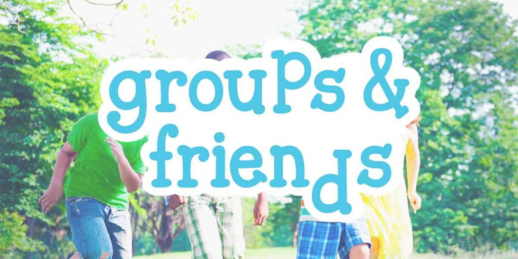 Frequently Asked Questions - Groups & Friends