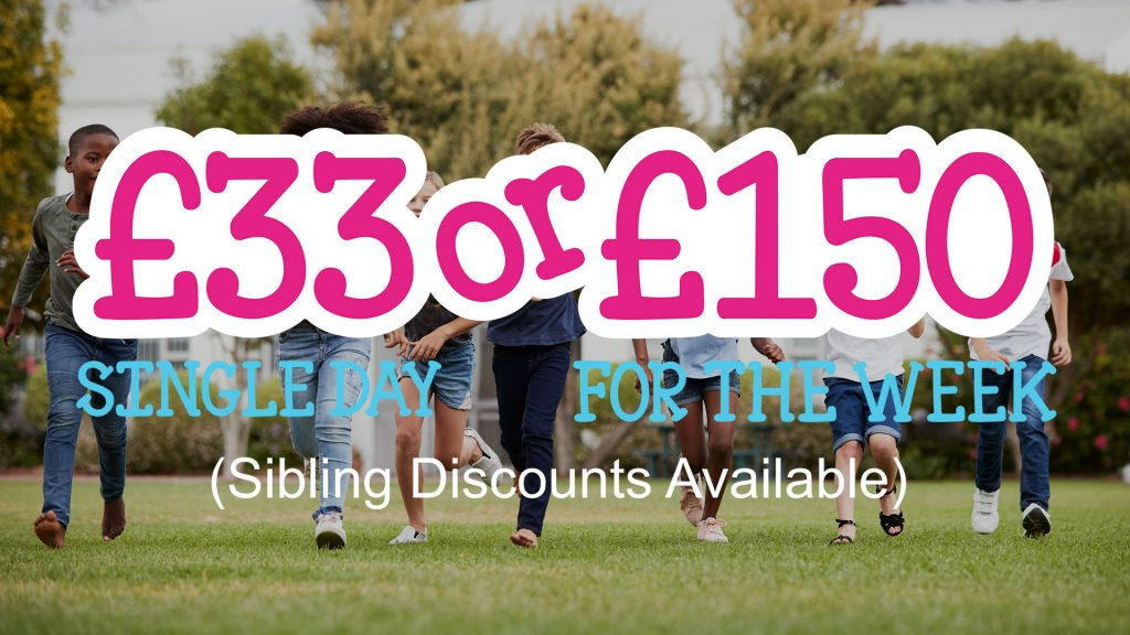 Kids holiday club costs