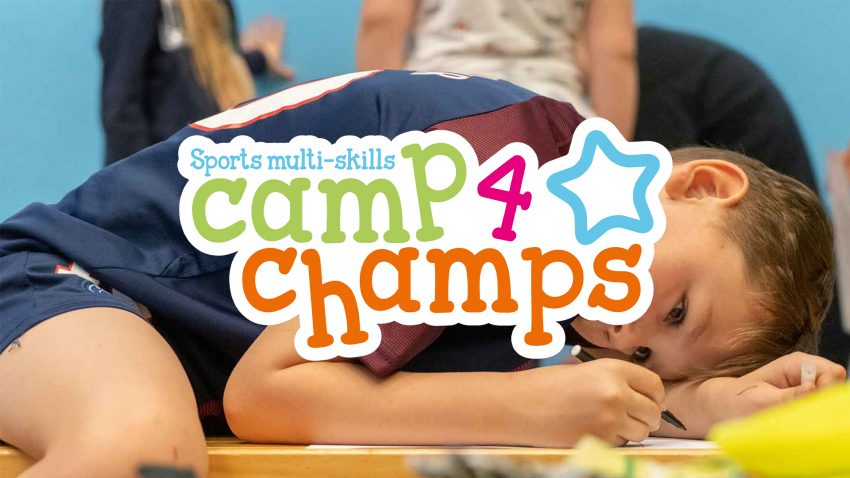 Camp 4 Champs Sample Timetable