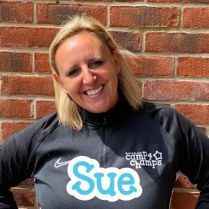 Sue Gutteridge - Coach at Camp 4 Champs